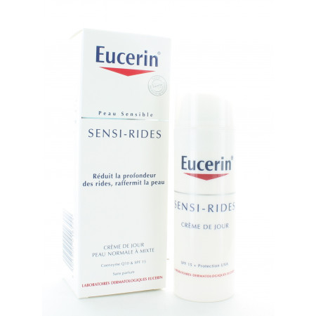 Eucerin Sensi-Rides Crème de Jour Peau Normale à Mixte 50ml