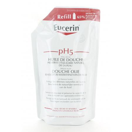 Eucerin Éco-recharge Huile de Douche pH5 400ml