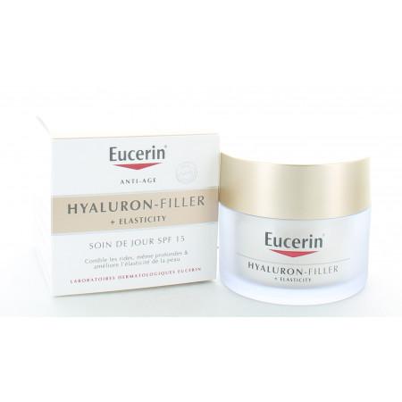 Eucerin Hyaluron-Filler + Elasticity Soin de Jour SPF15 50ml