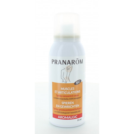 Pranarôm Aromalgic Muscles et Articulations Spray Concentré 75ml