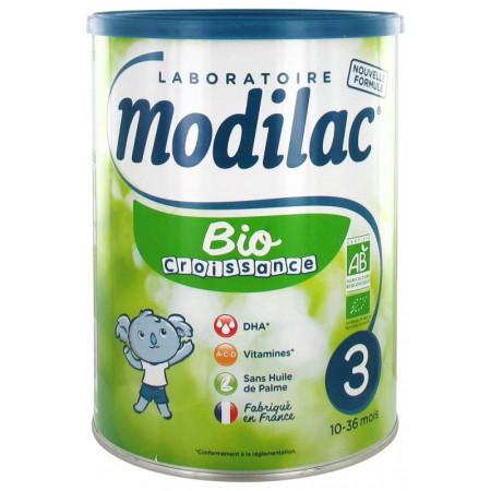 Modilac 3 Expert Bio 10-36 mois 800g