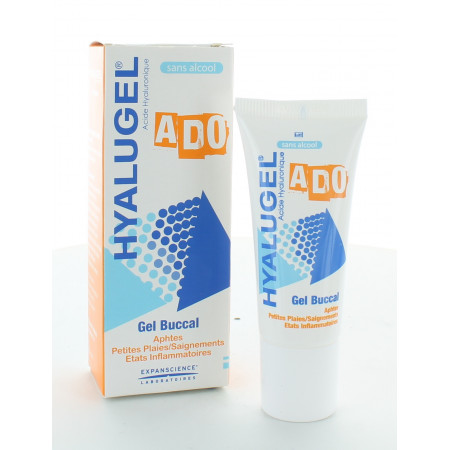 Hyalugel Gel Buccal Ado 20ml