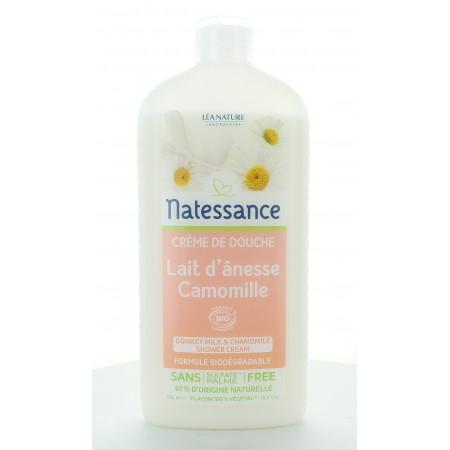 Natessance Crème de Douche Lait d'ânesse & Camomille 500ml
