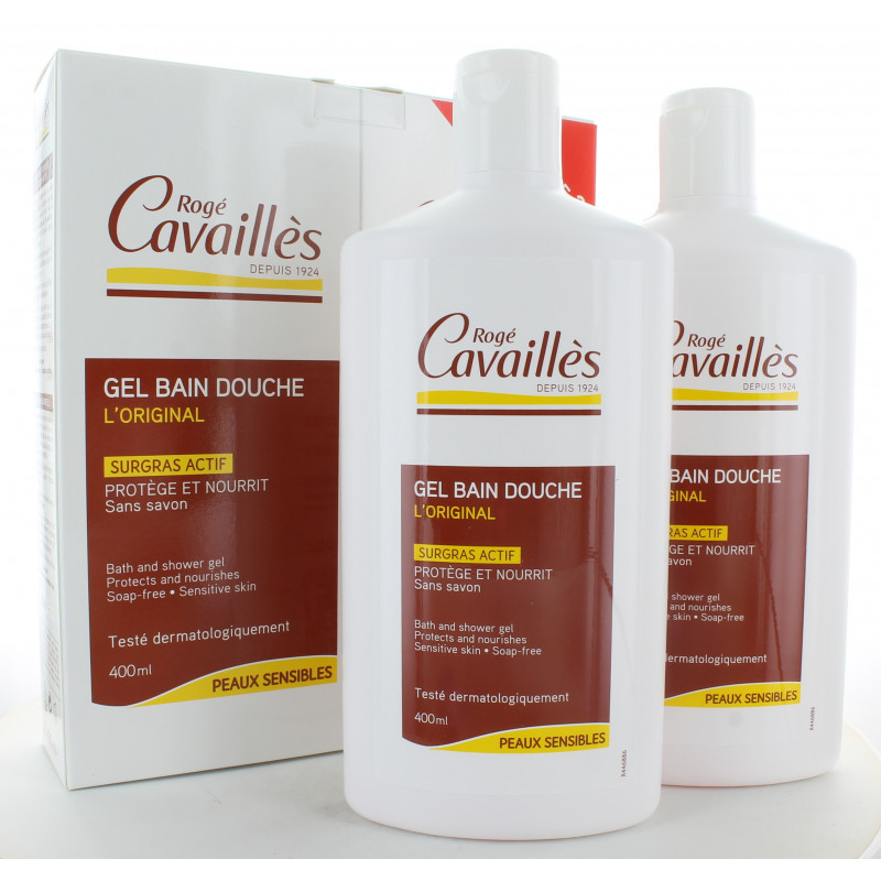 Rogé Cavaillès Gel Bain Douche L'Original 2X400ml