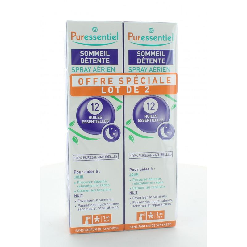 Puressentiel Sommeil Détente Spray Aérien 2X75ml