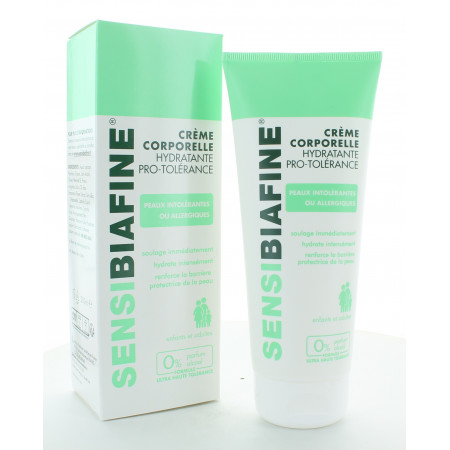 SensiBiafine Crème Corporelle Hydratante Pro-Tolérance 200ml