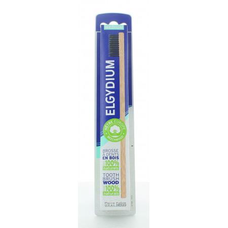 Elgydium Brosse à Dents Médium en bois