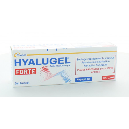 Hyalugel Forte Gel Buccal 8ml