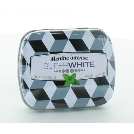 Superwhite Pastilles Blancheur Menthe Intense X50