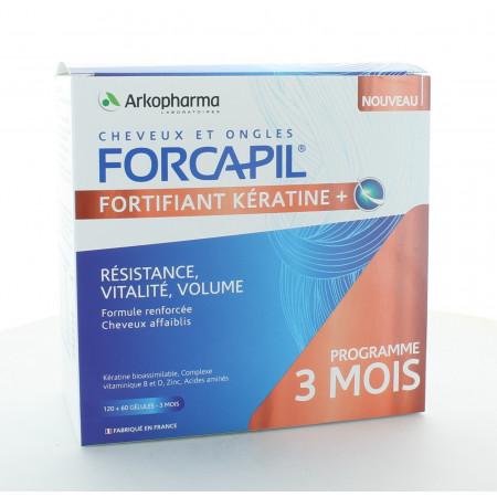 Arkopharma Forcapil Fortifiant Kératine+ 180 gélules