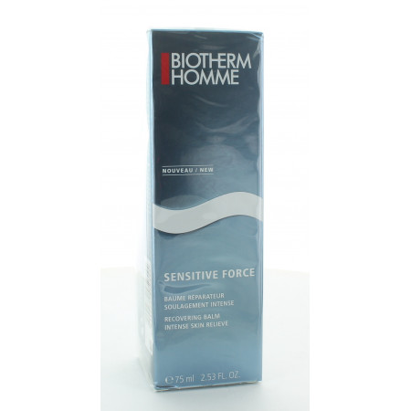 Biotherm Homme Sensitive Force Baume Réparateur 75ml