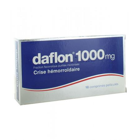 Daflon 1000mg 18 comprimés