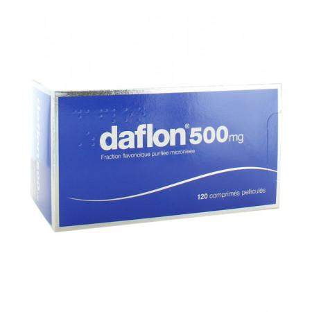 Daflon 500mg 120 comprimés