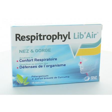 Respitrophyl Lib'Air Nez & Gorge 15 gélules