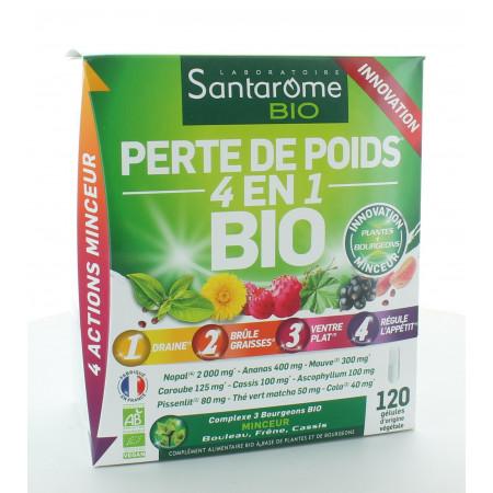 Santarome Bio Perte de Poids 4-en-1 120 gélules