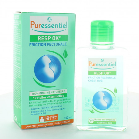 Puressentiel Resp OK Friction Pectorale 100ml