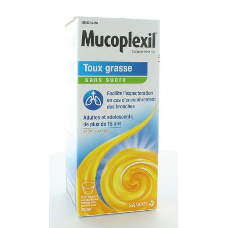 Mucoplexil 5% Toux Grasse Sans Sucre 250ml