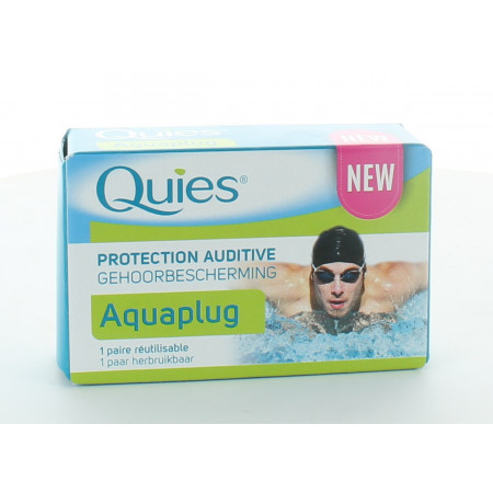 Quies Aquaplug Protection Auditive X1 paire