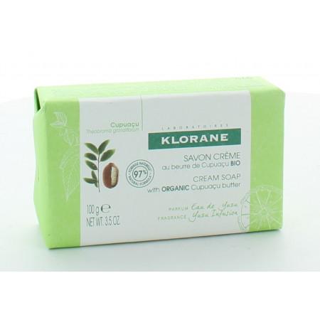 Klorane Savon Crème au Beurre de Cupuaçu Bio 100g