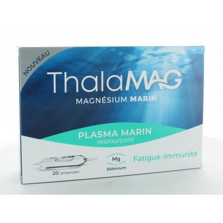 Thalamag Magnésium Marin Plasma Marin Ressourçant 20 ampoules