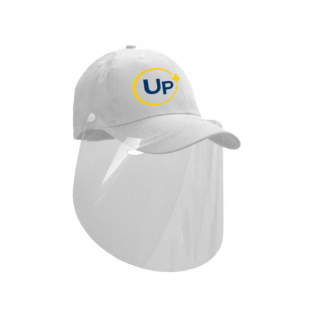Casquette Visière Protection Blanche UP