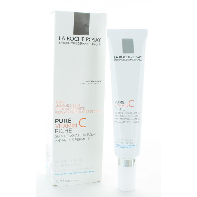 La Roche-Posay Pure Vitamin C Riche Soin Rénovateur 40ml