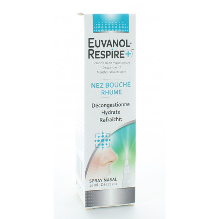 Euvanol Respire+ Spray Nasal 20ml