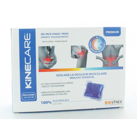 Kinecare Gel Pack Chaud/Froid Multizone 14X20cm