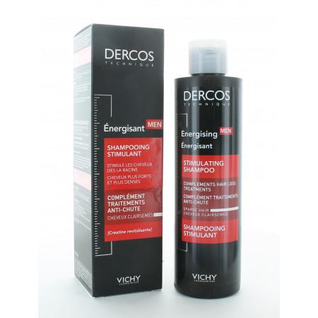 Dercos Vichy Shampooing Stimulant Énergisant Men 200ml