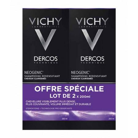 Dercos Vichy Neogenic Shampooing Redensifiant 2X200ml
