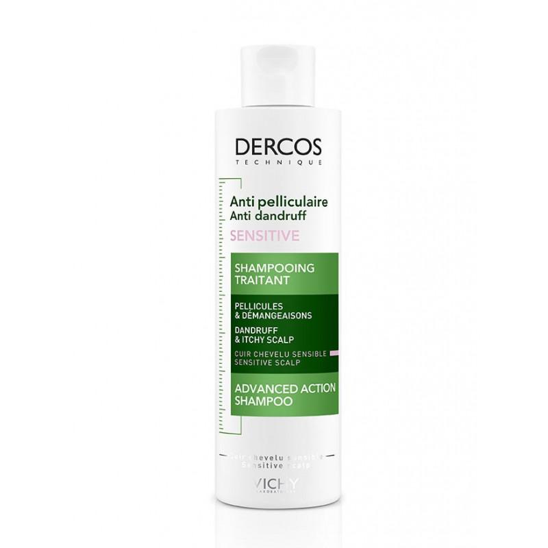 Dercos Vichy Shampooing Anti-Pelliculaire Sensitive 200ml