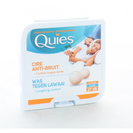 Quies Cire Anti-bruit 27dB X8 paires