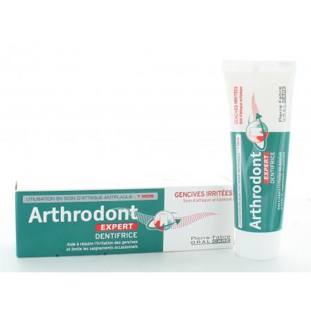 Arthrodont Expert Dentifrice Gencives Irritées 50ml