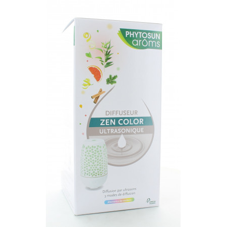 Phytosun Aroms Diffuseur Zen Color Ultrasonique