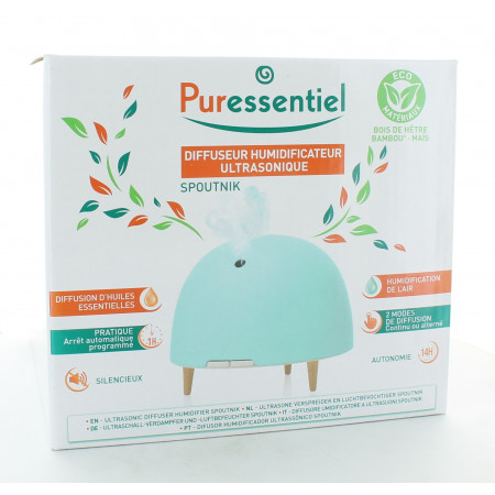 Puressentiel Spoutnik Diffuseur Humidificateur Ultrasonique