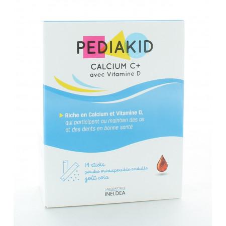 Pediakid Calcium C+/Vitamine D 14 sticks