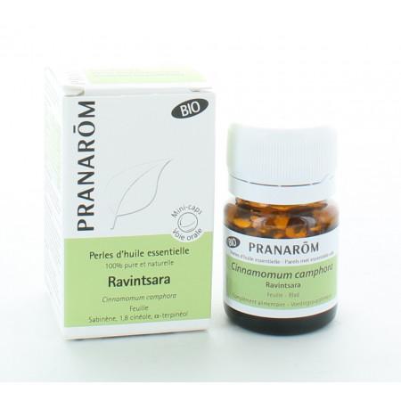 Pranarôm Perles d'Huile Essentielle Ravintsara X60