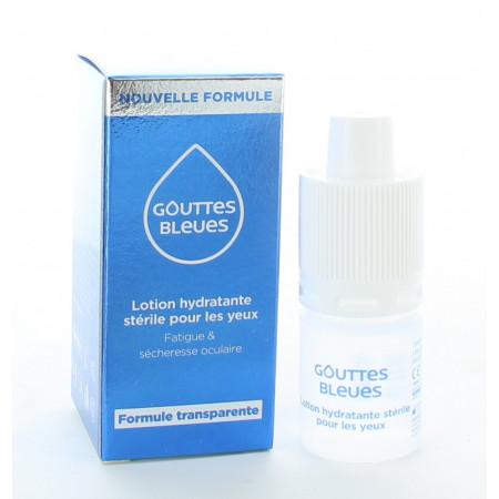 Gouttes Bleues Lotion Hydratante Stérile 10ml
