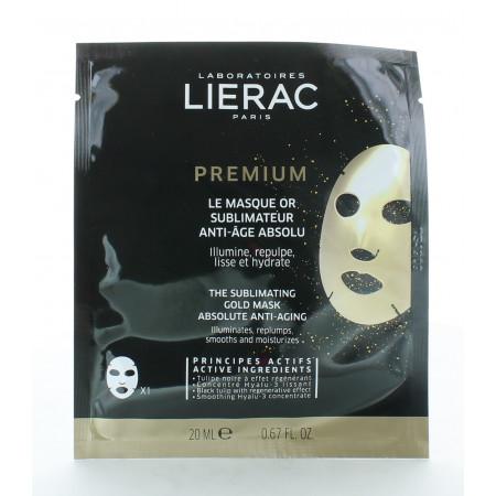 Lierac Premium Le Masque Or Sublimateur Anti-âge Absolu 20ml