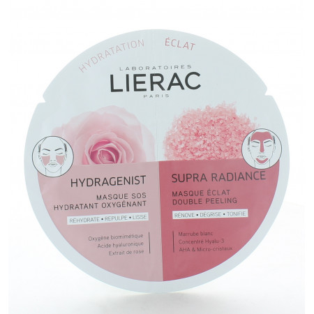 Lierac Duo Masque Hydragenist X Supra Radiance