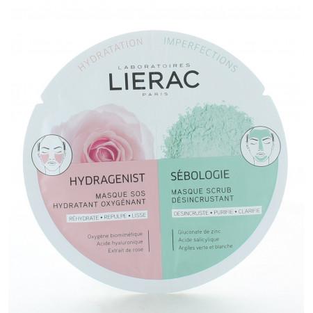 Lierac Duo Masque Hydragenist X Sébologie