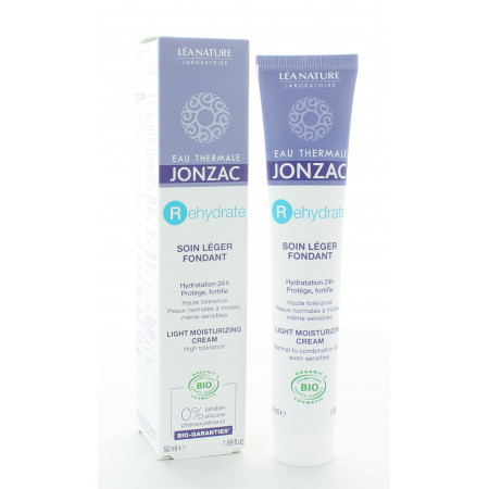 Jonzac REhydrate Soin Léger Réhydratant 50ml