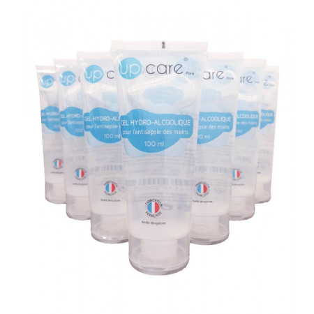 Up Care Gel Hydro-alcoolique 10X100ml