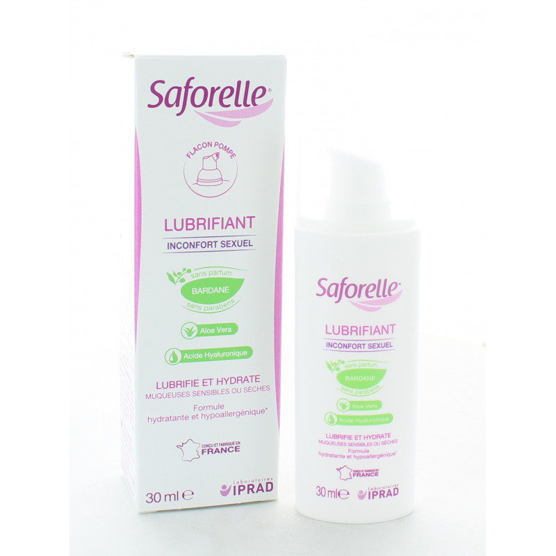 SAFORELLE LUBRIFIANT INTIME 30 ml