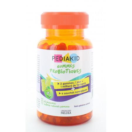 Pediakid Gommes Probiotiques à la Pomme X60