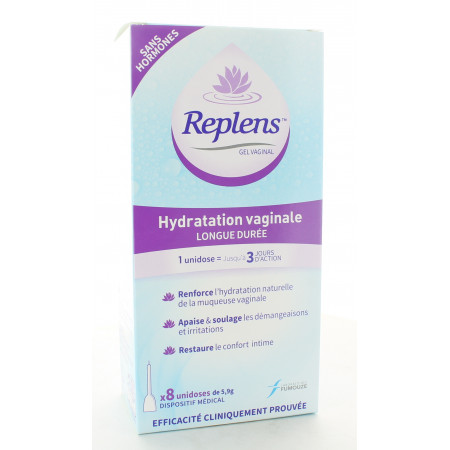 Replens Gel Vaginal 8X5.9g