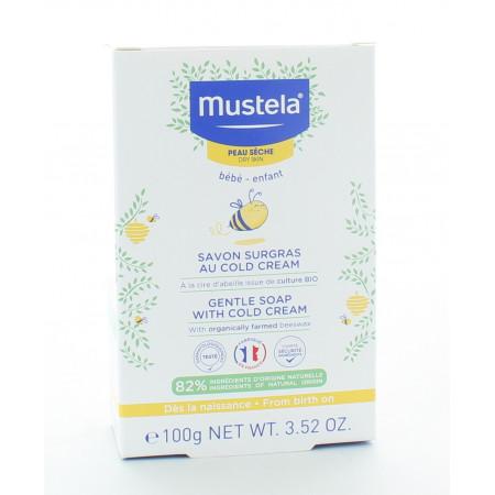 Mustela Savon Surgras au Cold Cream 100g