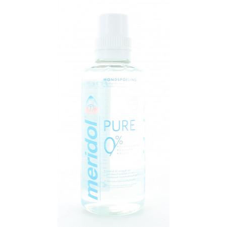 Meridol Pure 0% Bain de Bouche 400ml