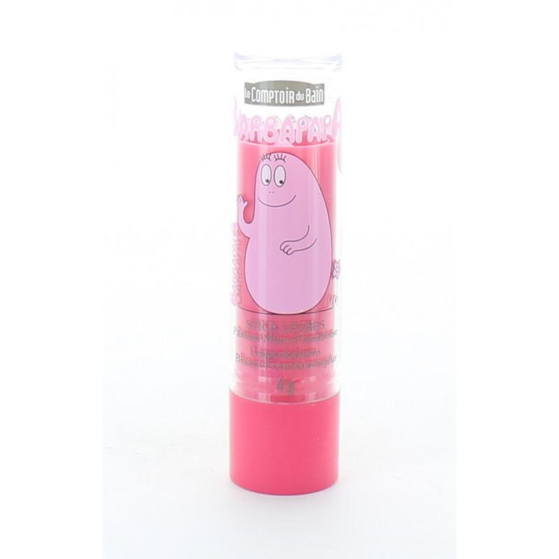 Barbapapa Stick Lèvres Parfum Mûre-Framboise 4g