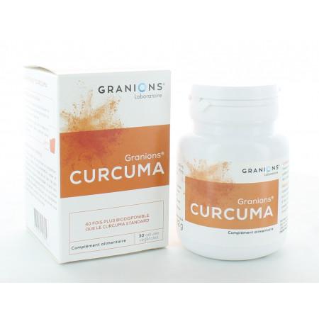 Granions Curcuma 30 gélules végétales